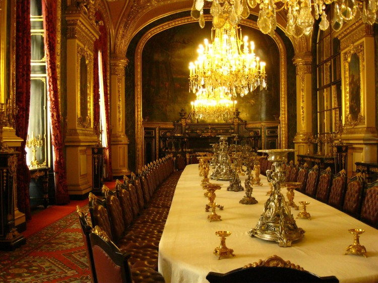 Napoleon Dining Room Louvre