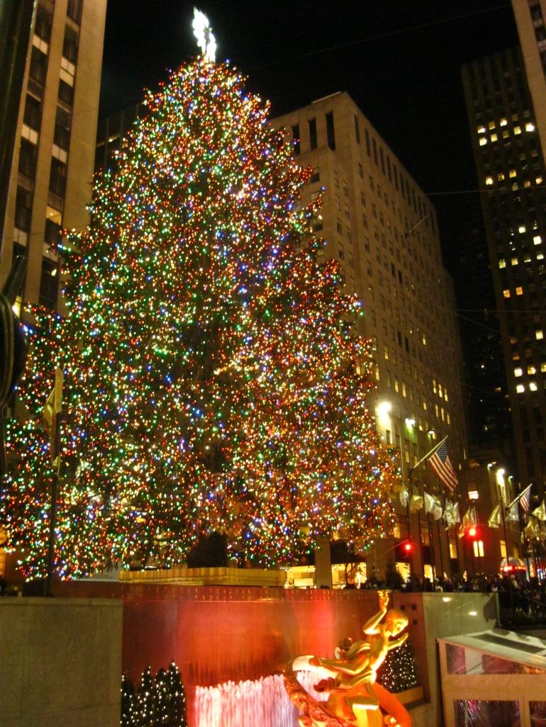 Central Park Christmas Tree