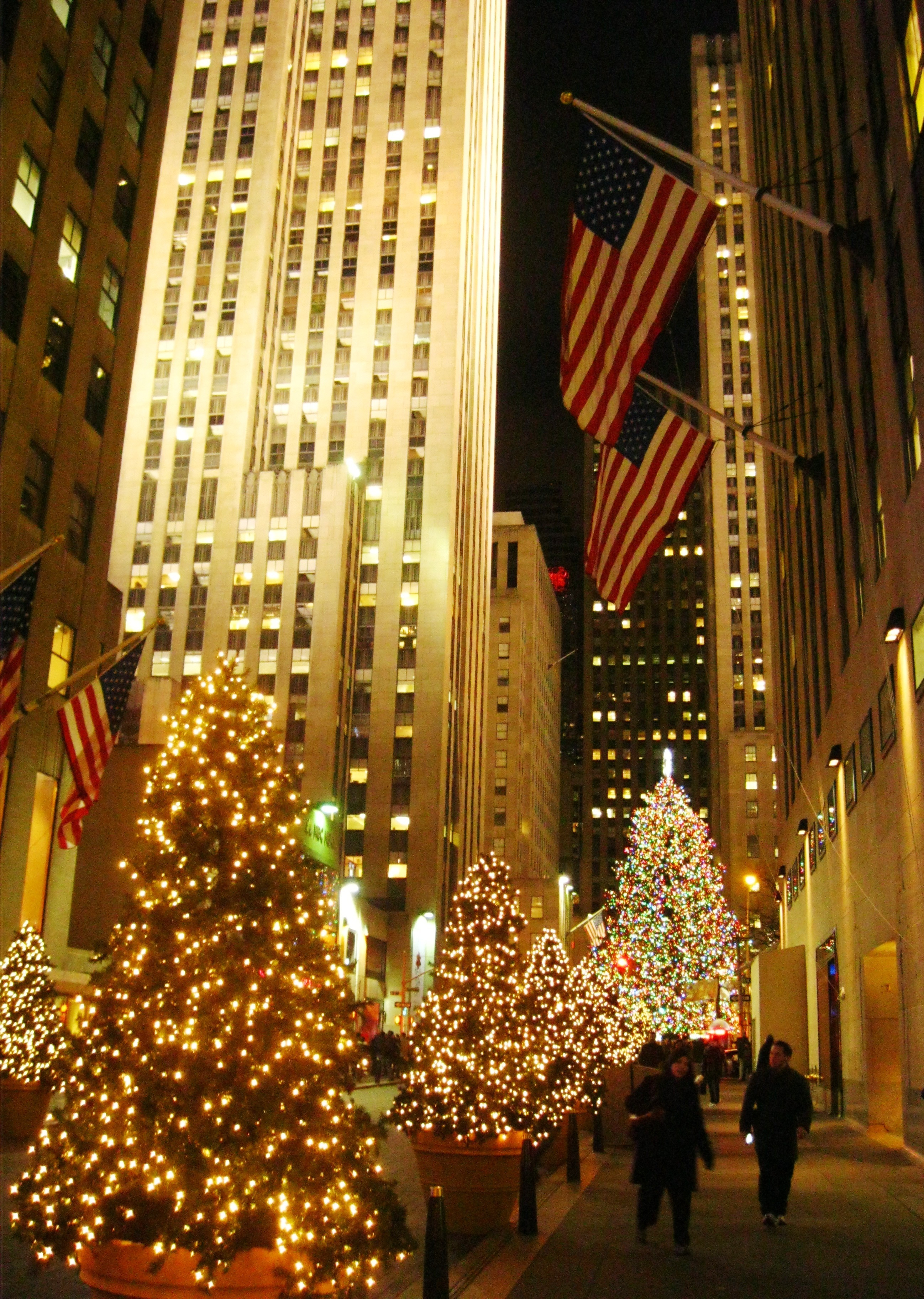 Christmas in New York City Part 2: extraordinary Christmas trees and ...