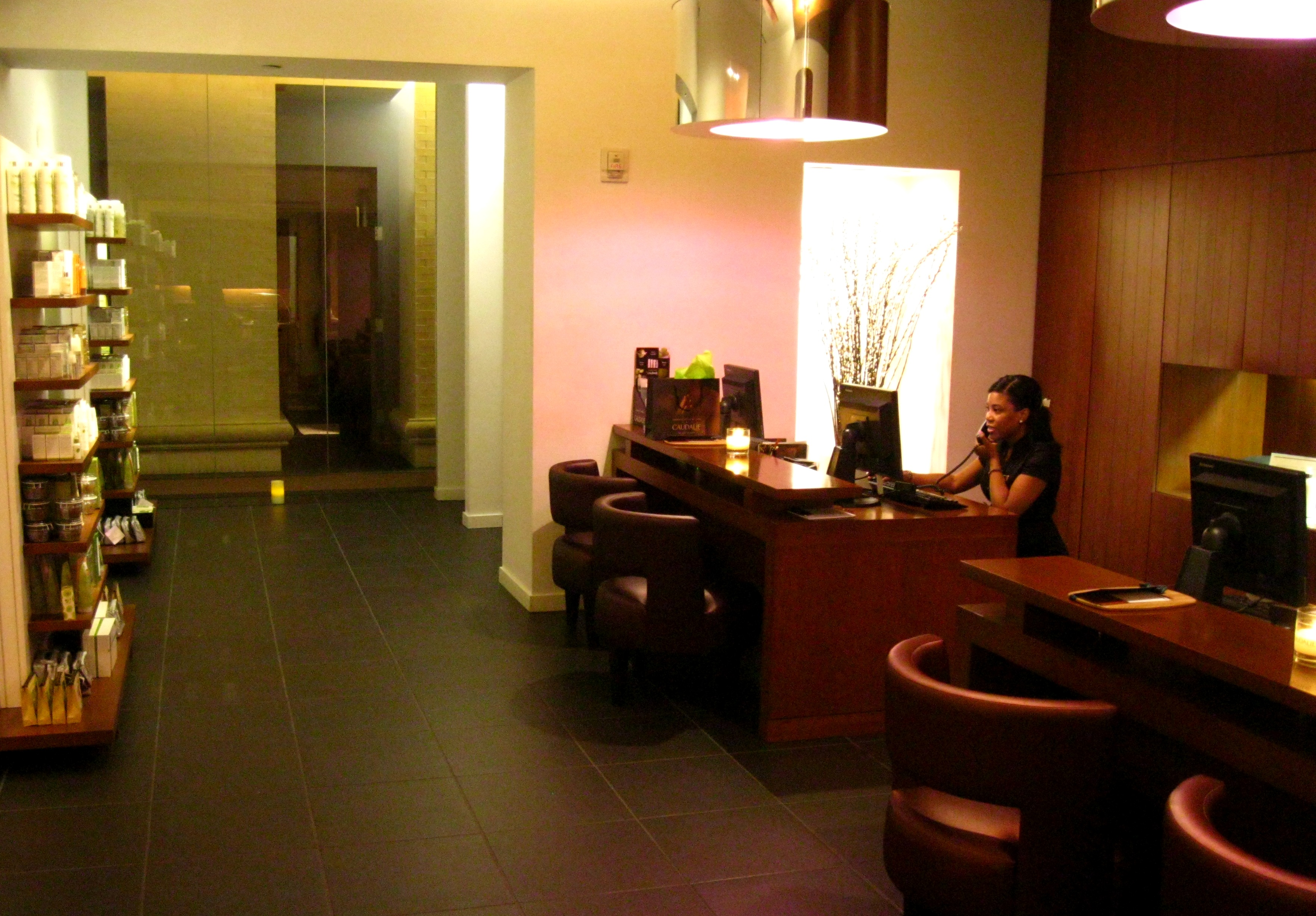 The caudalie spa at the plaza in new york the grape for Modern hotels near me