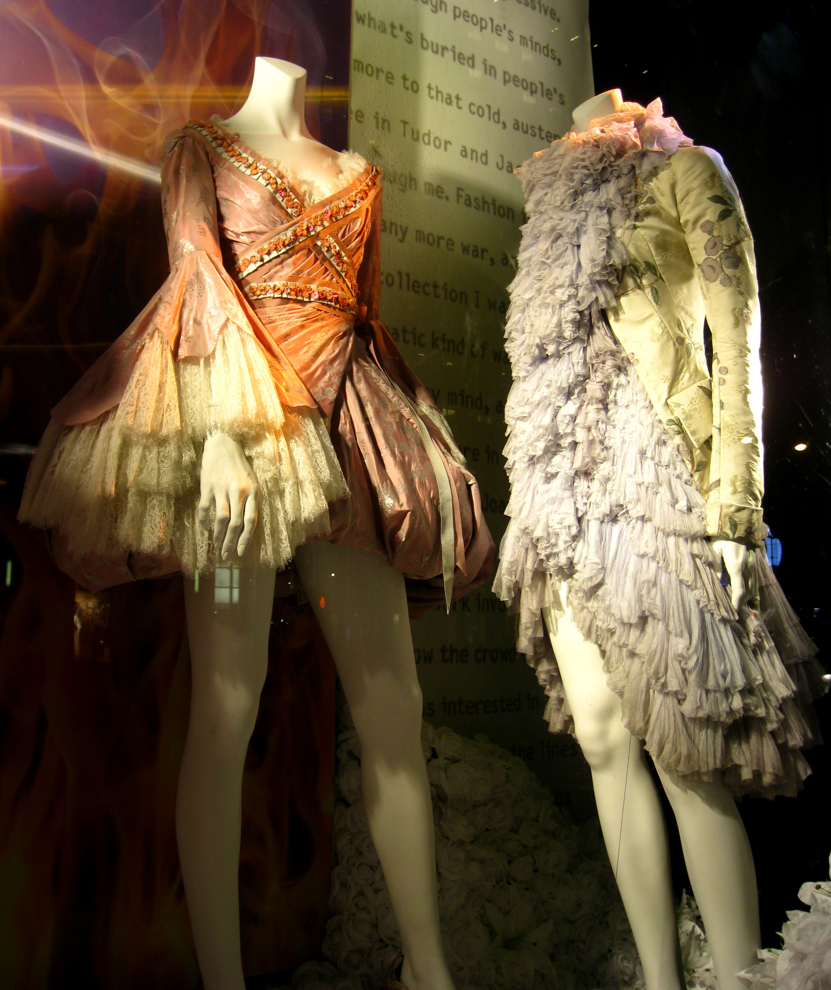776881b08a35 Alexander McQueen Savage Beauty windows at Bergdorf Goodman ...