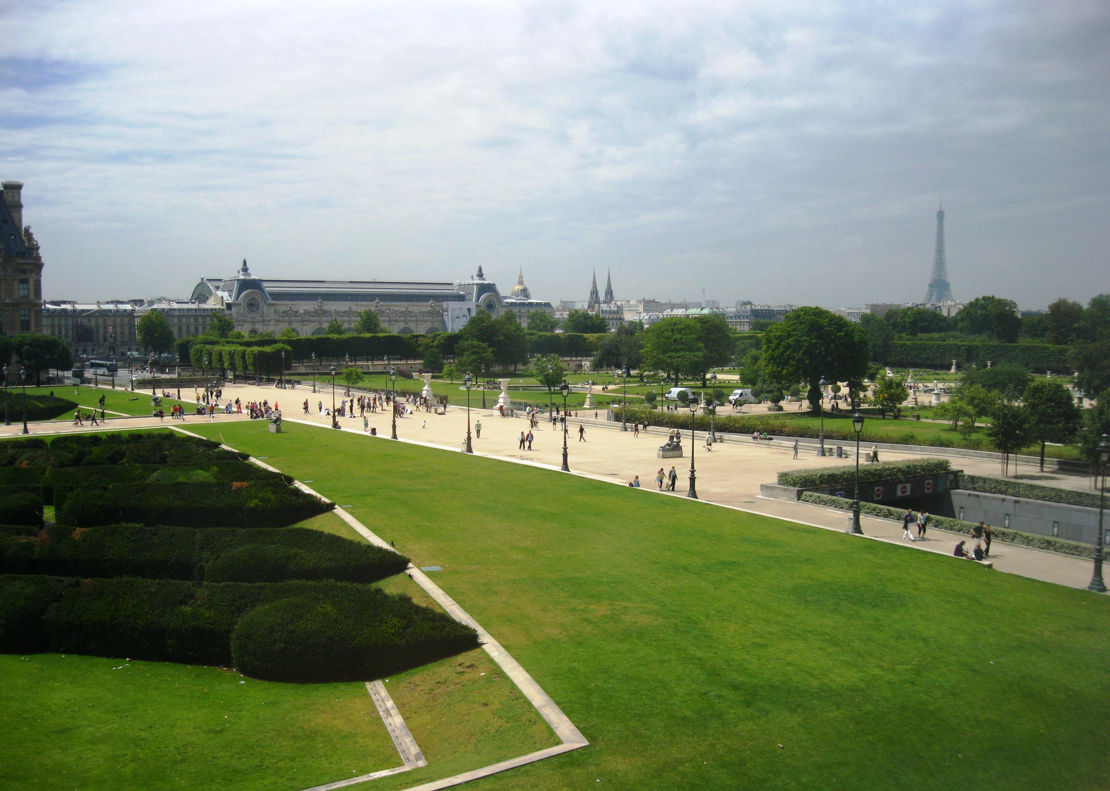 Postcards from paris ritournelle - Jardin des tuileries foire ...