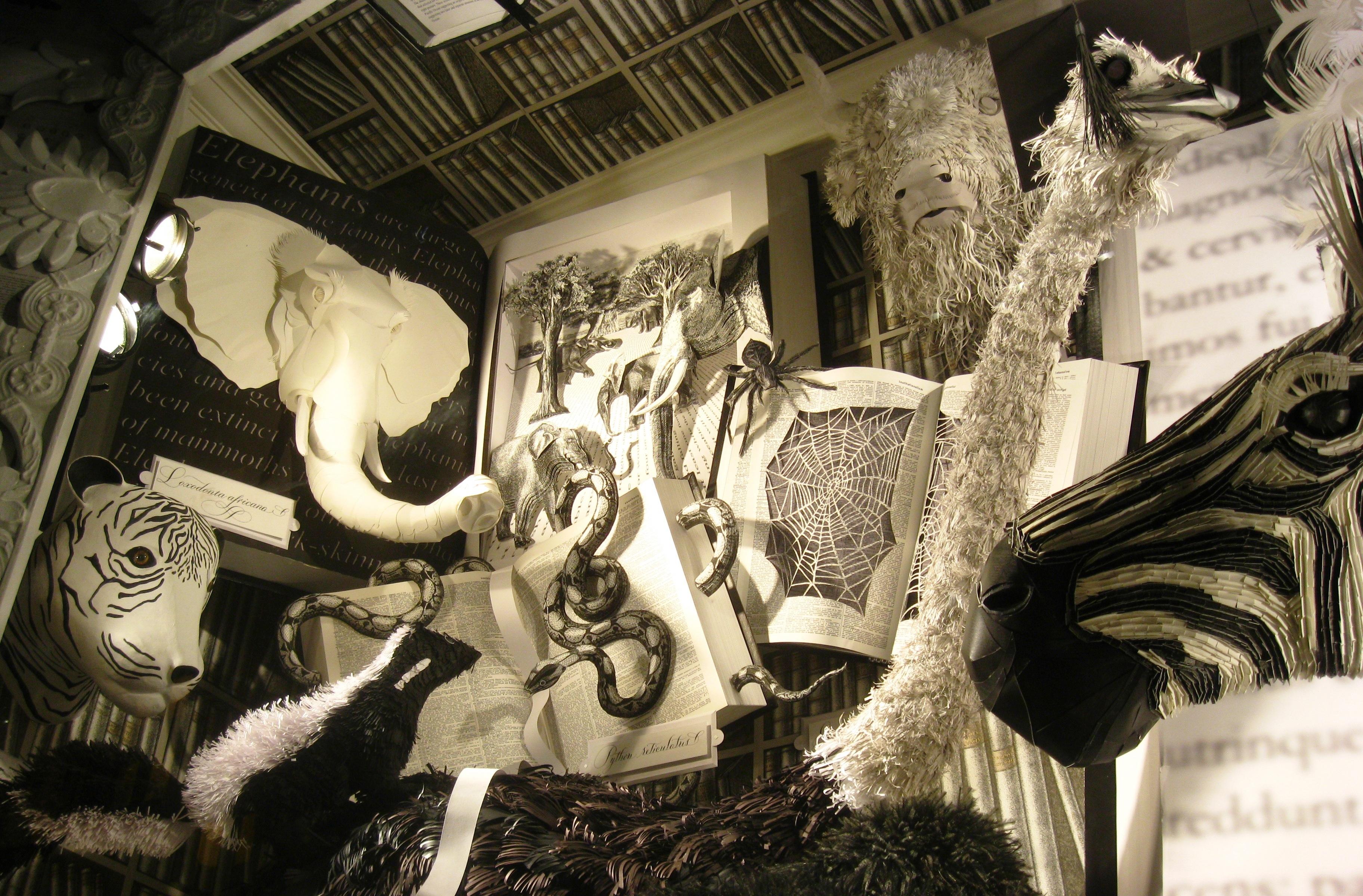 Christmas in New York: Bergdorf Goodman windows – Ritournelle