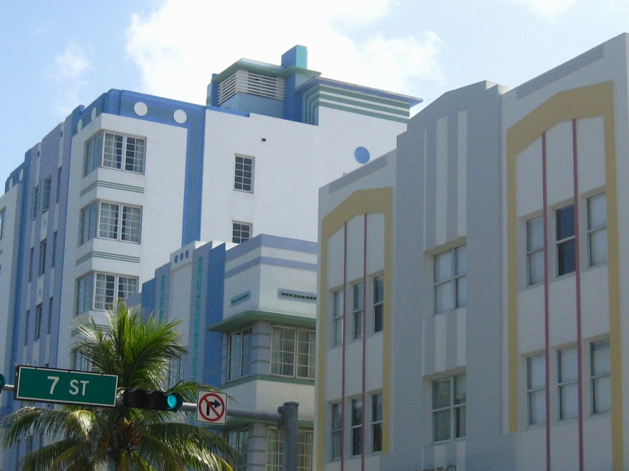 Miami Art Deco 3 hotels