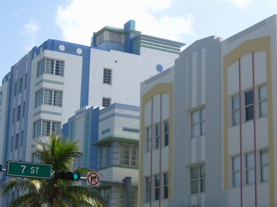 Miami Art Deco 3 hotels