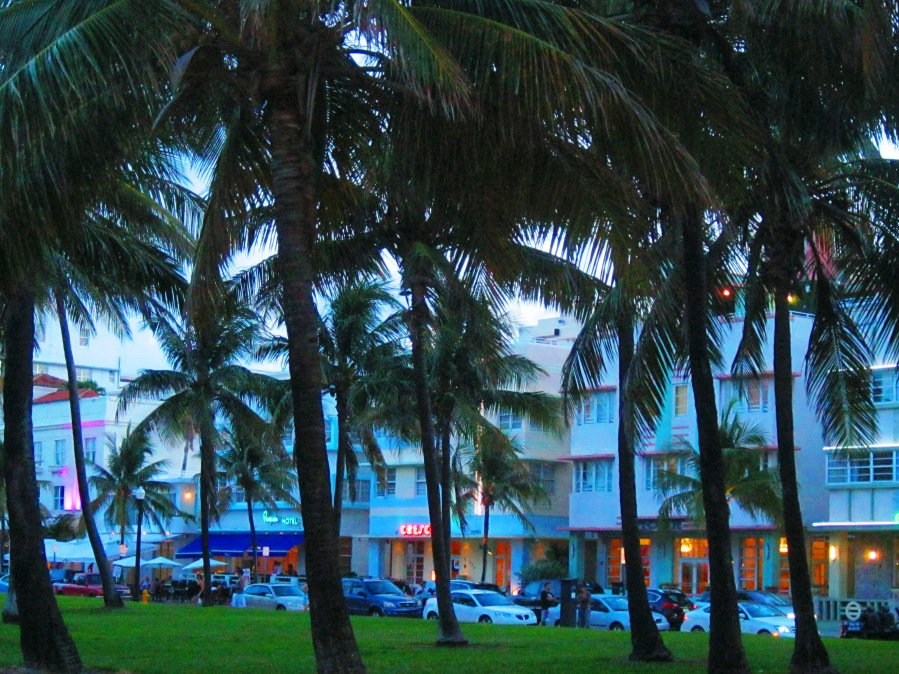 Miami Art Deco Ocean Drive
