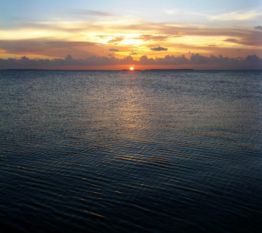 Sunset on the Keys