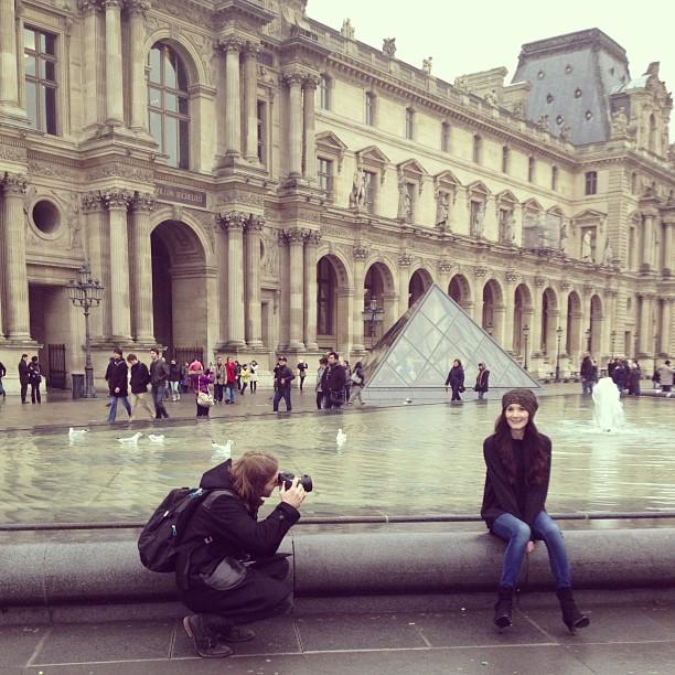 Sarah Louvre