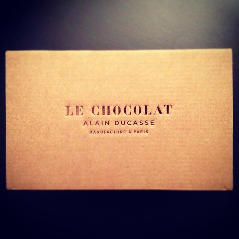 Ducasse chocolat boite