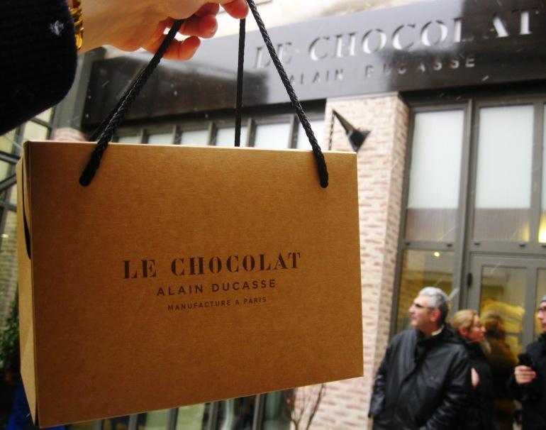 Ducasse chocolat sac