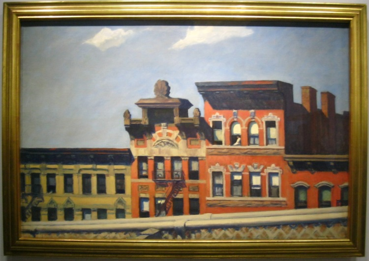 Edward Hopper From Williamsburg Bridge