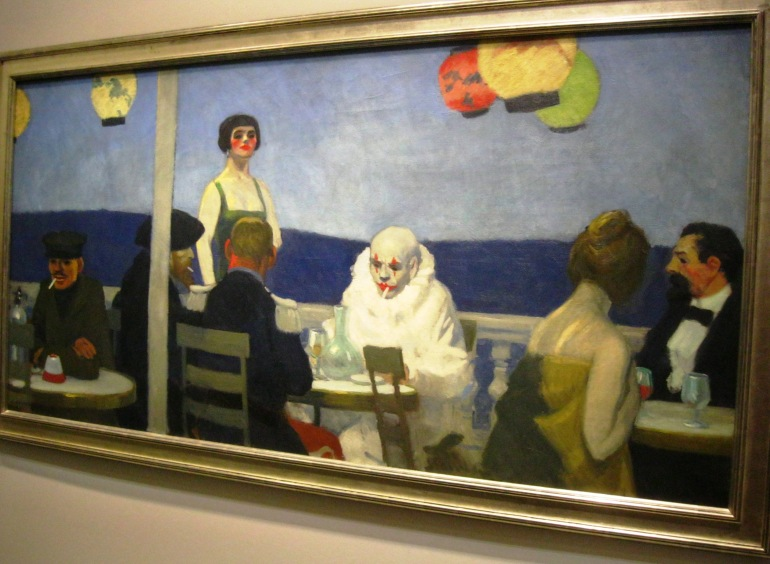 Edward Hopper Soir Bleu
