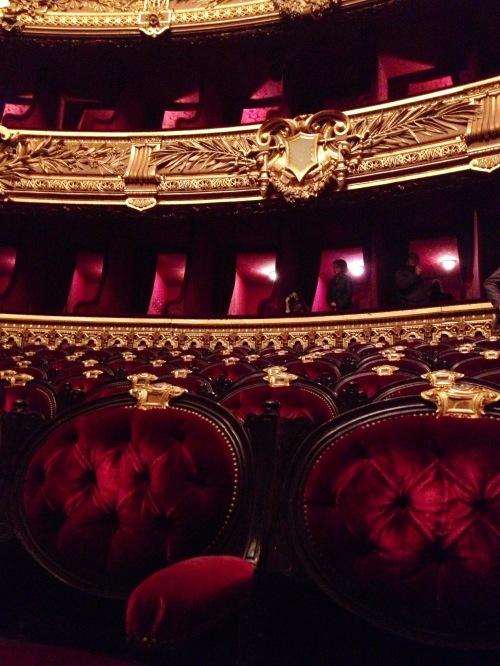 Opera Garnier Empty seats