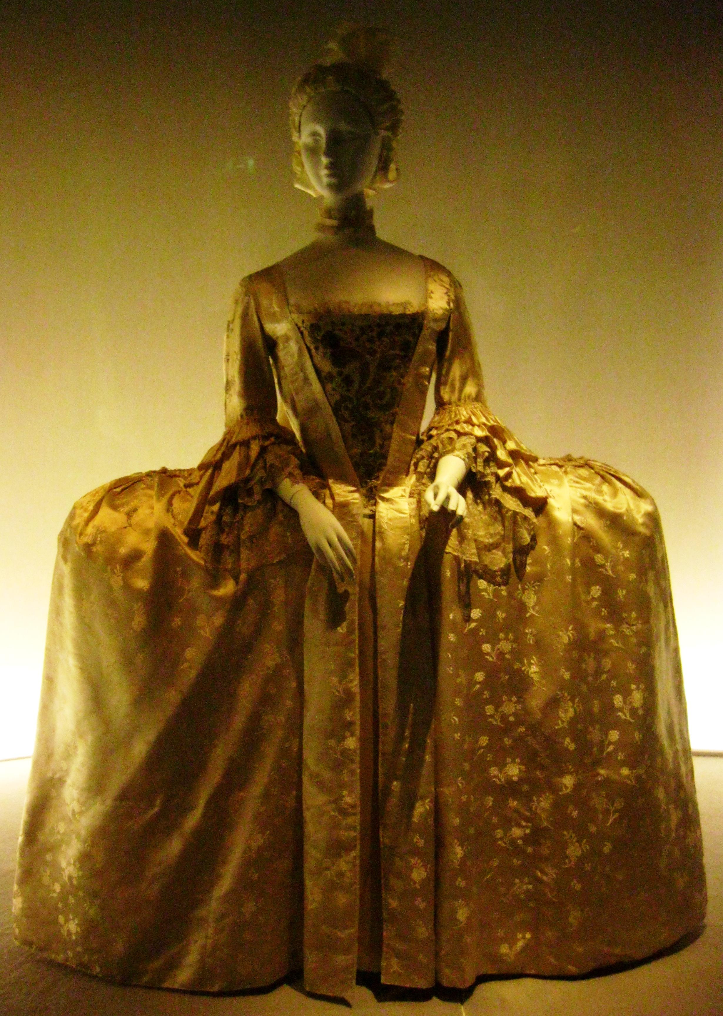 Fashioning Fashion Exhibition In Paris European Style From 1715 To 1900 Ritournelle
