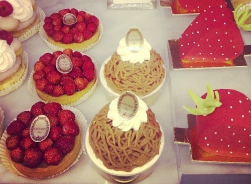 Ladurée strawberries