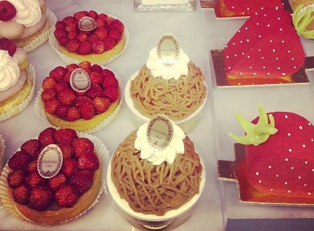 Ladurée strawberries