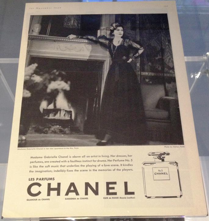 Chanel 5 ad 1937