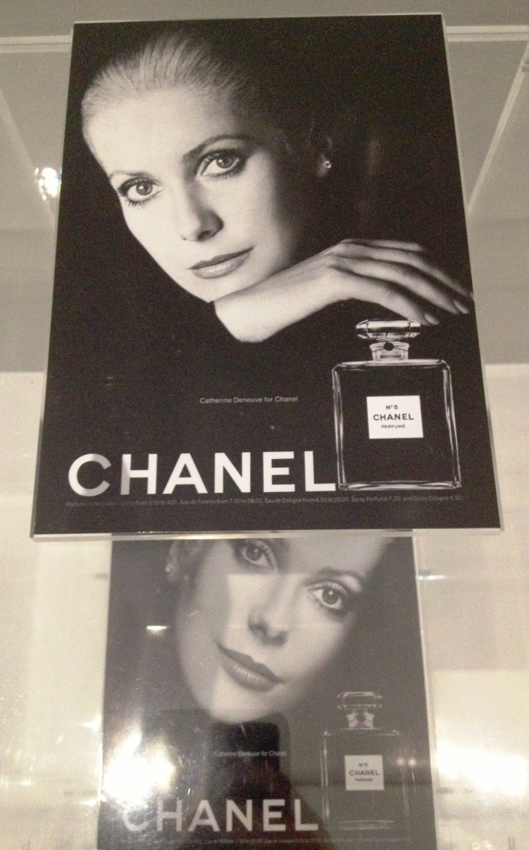 Chanel 5 Catherine Deneuve ad