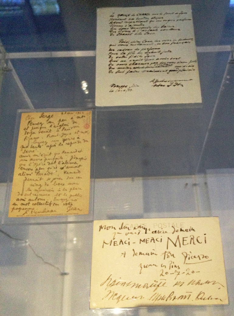 Chanel Picasso letter