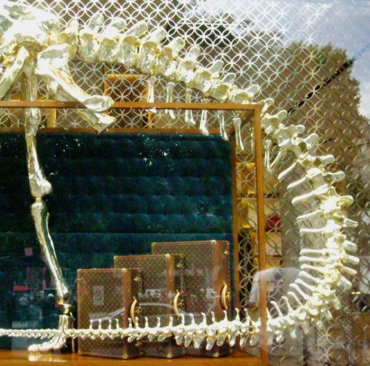 Louis Vuitton dinosaur window 5 right