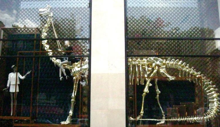Louis Vuitton dinosaur window 5
