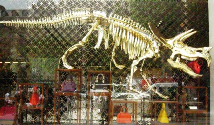 Louis Vuitton dinosaur window 6