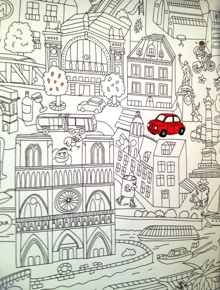 Merci Paris drawing