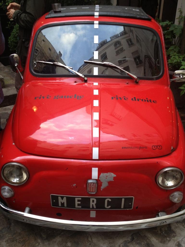 Merci Paris Fiat