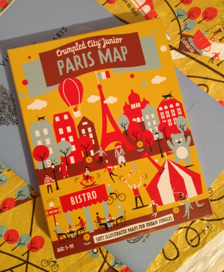 Merci Paris map