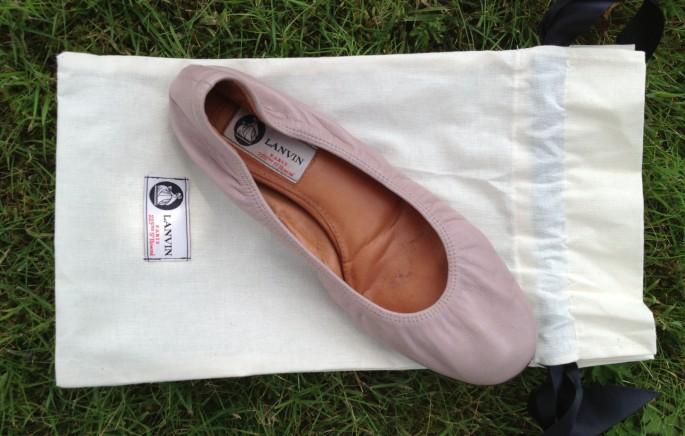 Lanvin ballerina bag