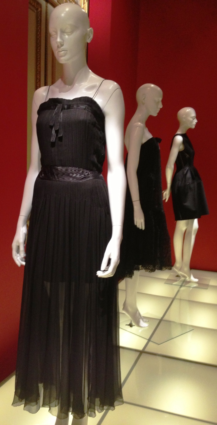Little Black Dress Chanel gown