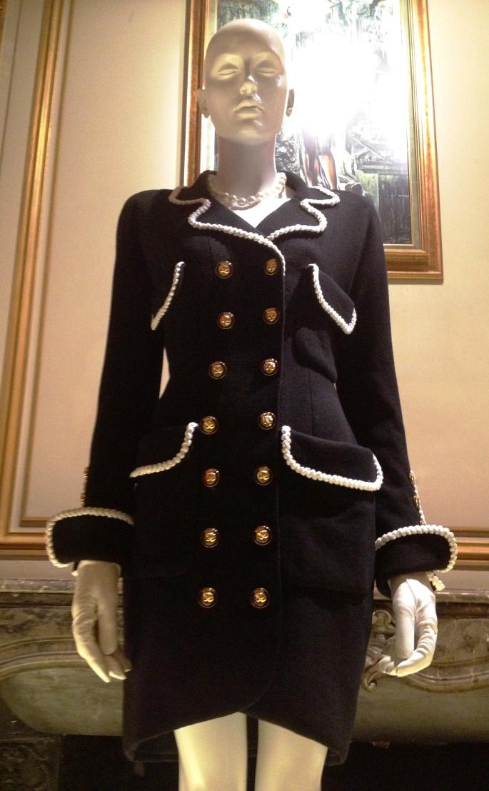 Little Black Dress Chanel suit