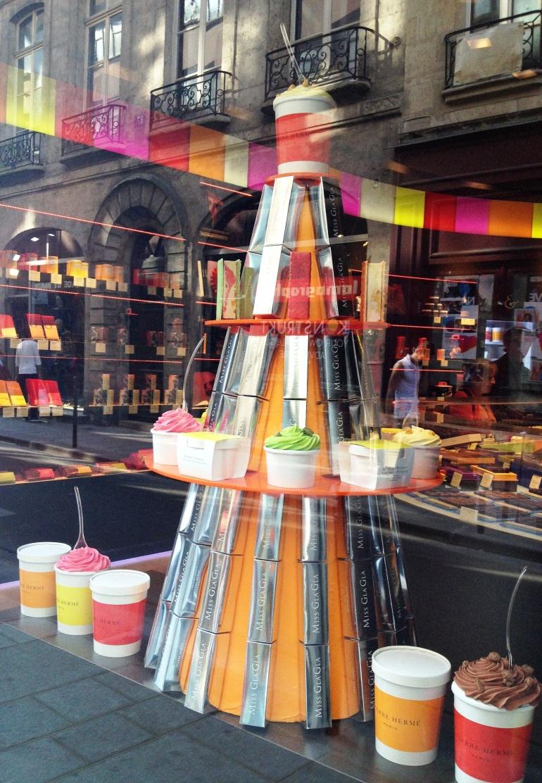 Pierre Herme ice cream window