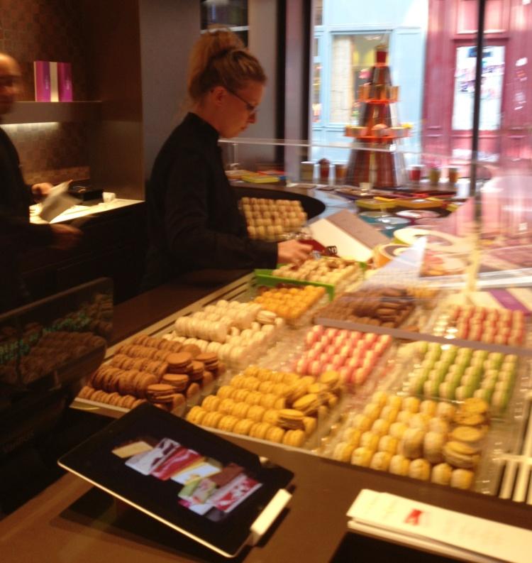 Pierre Herme store Le Marais inside