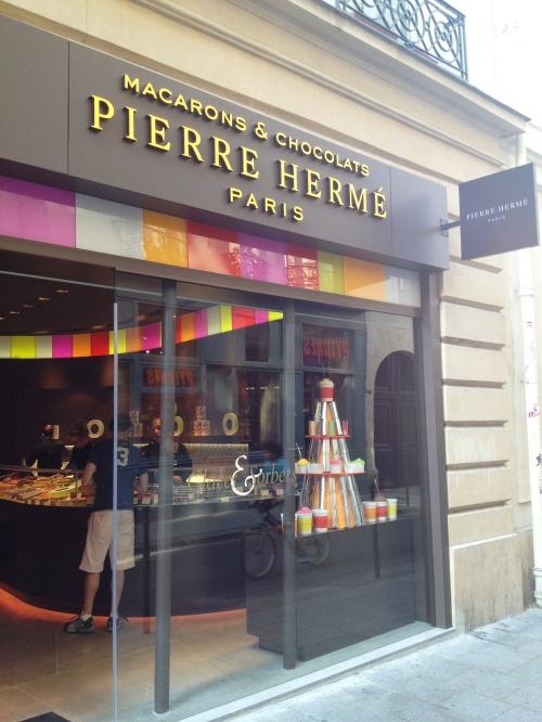Pierre Herme store Marais