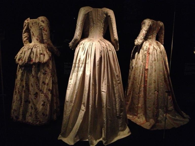 Robe à l'anglaise 1785