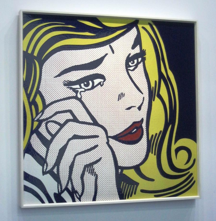 Roy lichtenstein pop art at the centre pompidou ritournelle for Art minimal centre pompidou