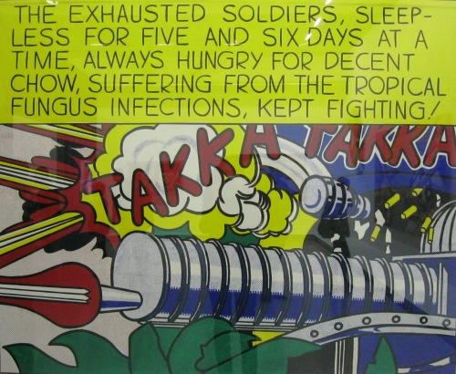 Roy Lichtenstein war
