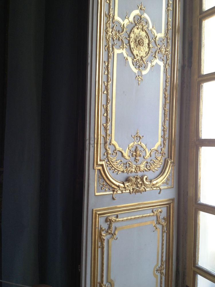 Versailles dining room detail