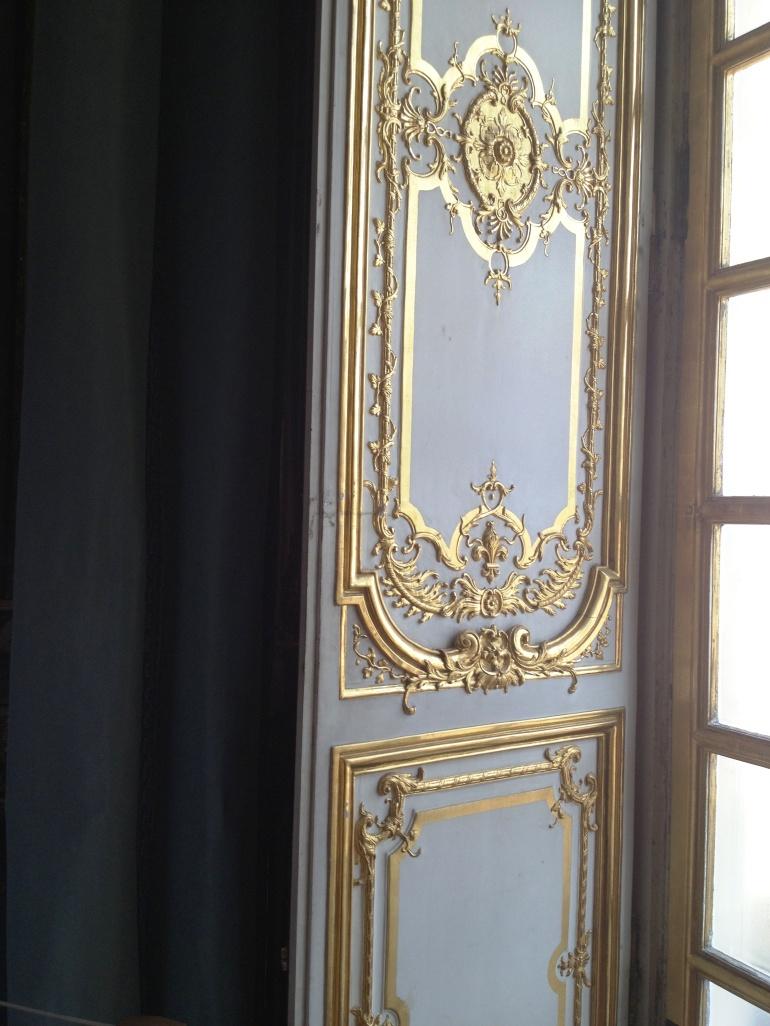 Versailles dining room detail