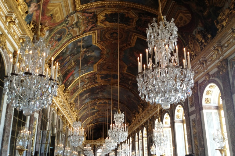 Versailles gallery of mirrors