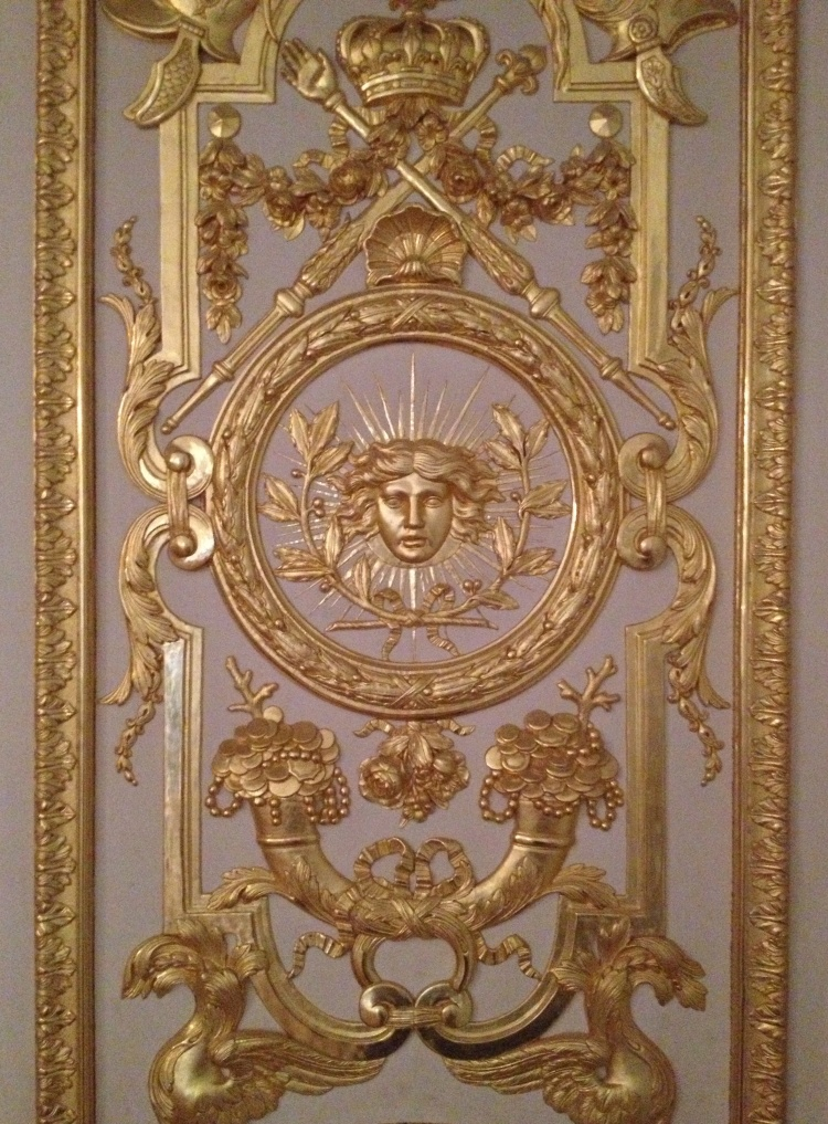 Versailles game room detail