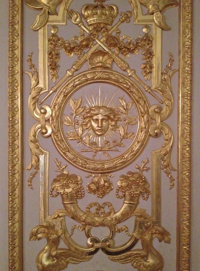 Versailles game room detail