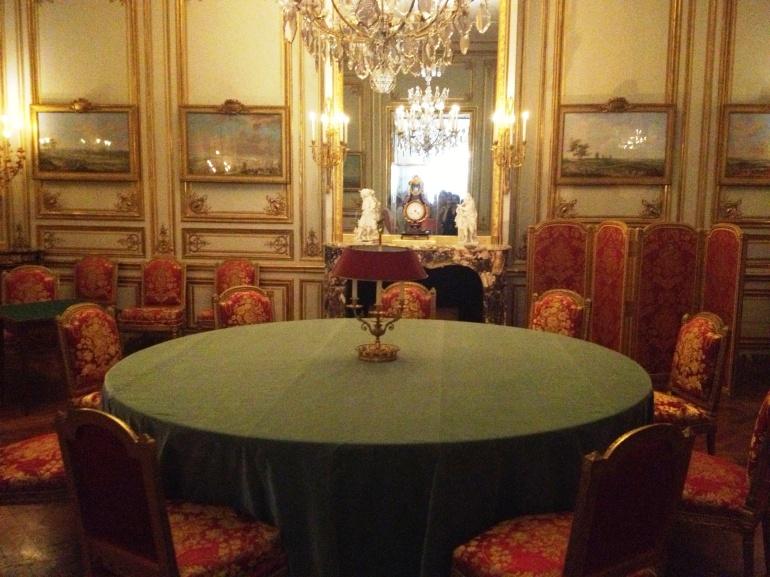 Versailles game room