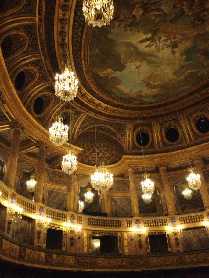 Versailles opera balconies