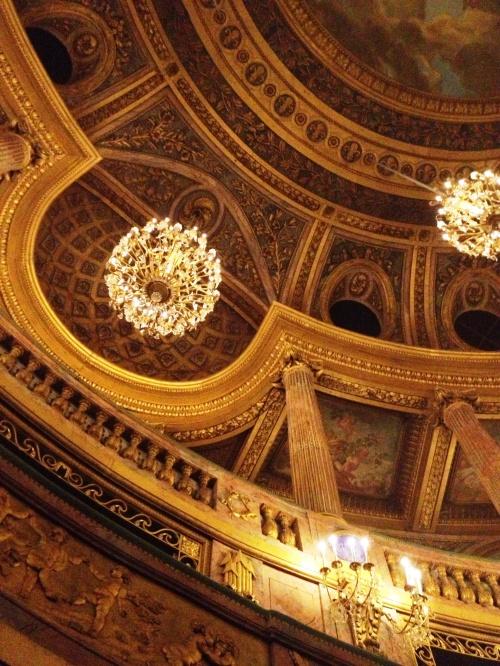 Versailles opera ceiling