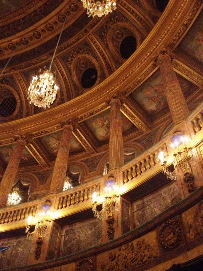 Versailles opera details