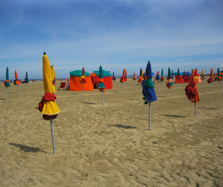 Deauville beach 6