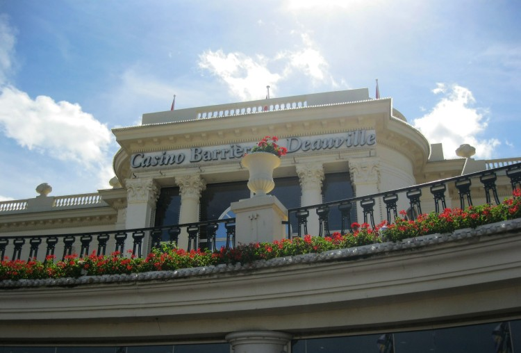 Deauville casino  front