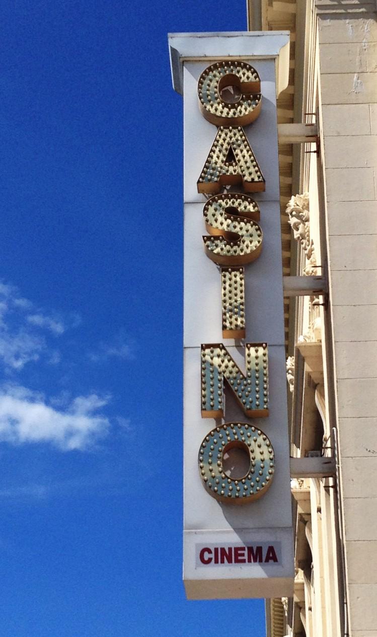 Deauville casino  sign